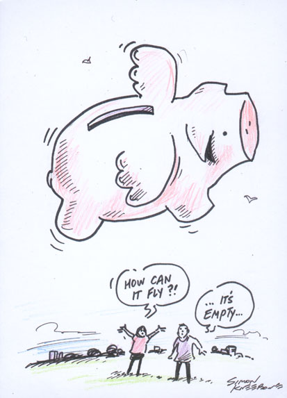 flying piggy pic