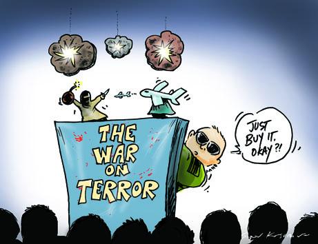re  Political Cartoons  Archived War On Terrorism Cartoons