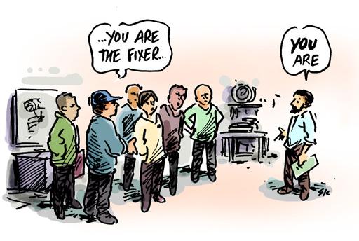 facilitation | Simon Kneebone - cartoonist and illustrator