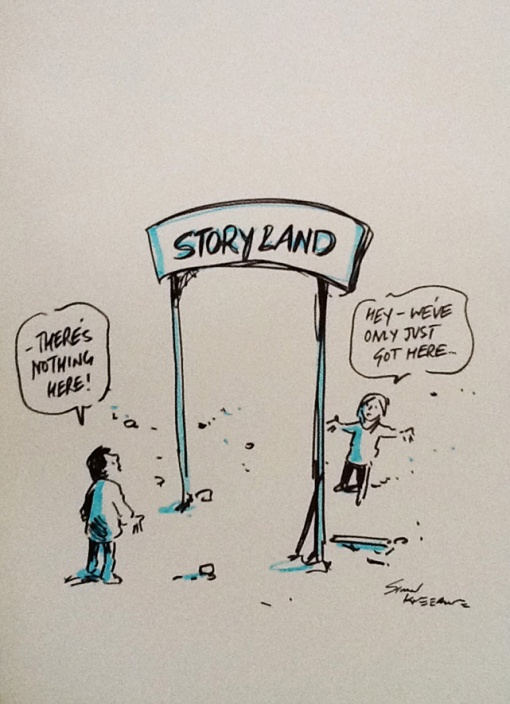 Storyland only just got here
